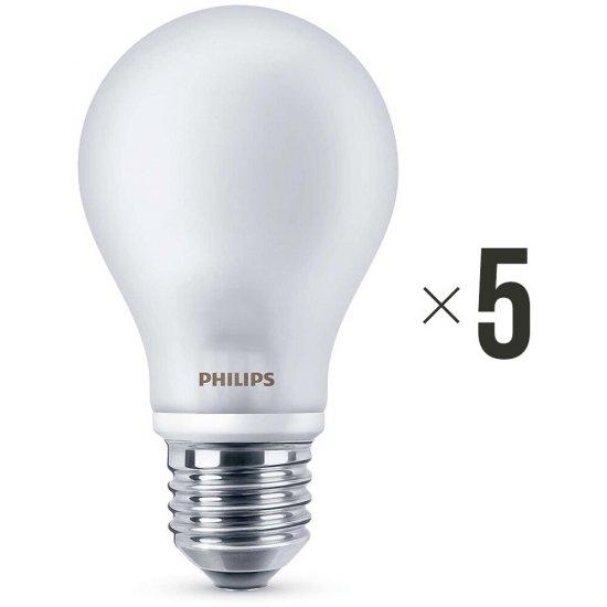 Komplet 5 sztuk żarówek LED 6 W (40 W) E27, 8718696419656 Philips