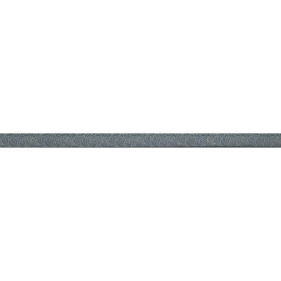 Płytka ścienna SYNTHIA szara listwa szklana 2,5x50 gat. I