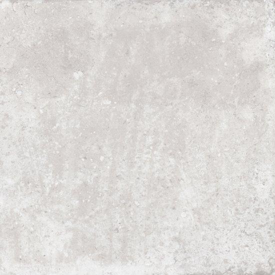 Gres szkliwiony ACONCAGUA RUSTIC biały rustic 80x80 gat. I