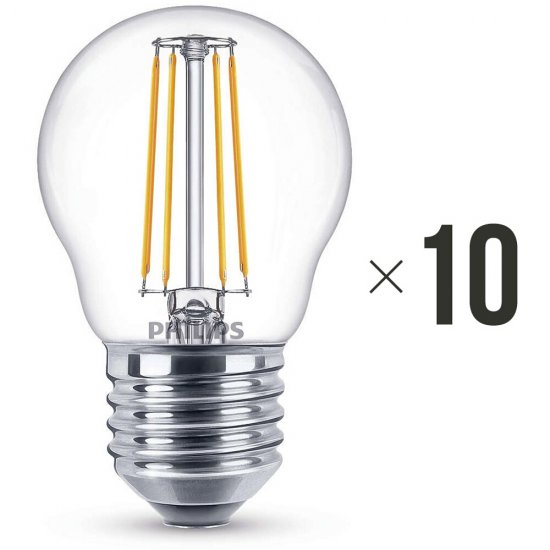 Komplet 10 sztuk żarówek LED 4 W (40 W) E27, 8718696587331 Philips