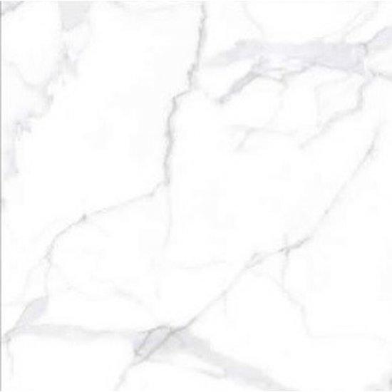 Gres szkliwiony BROAD PEAK biały poler 80x80 gat. I
