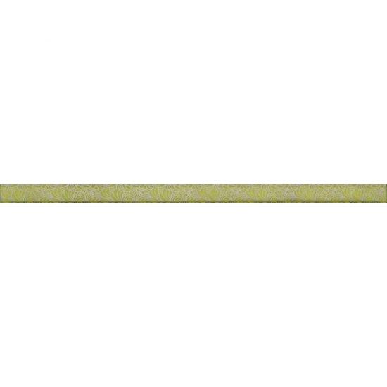 Płytka ścienna SYNTHIA zielona listwa szklana 2,5x50 gat. I
