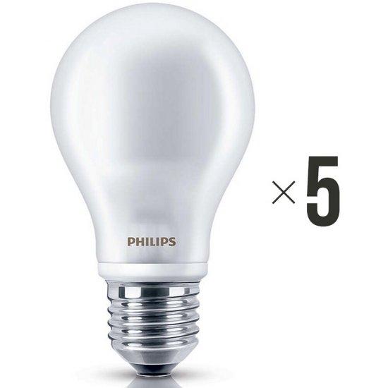 Komplet 5 sztuk żarówek LED 7 W (60 W) E27, 8718696472187 Philips