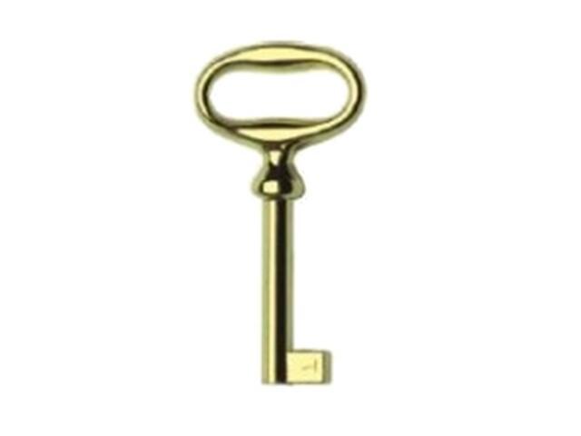 Klucz meblowy patyna na mosiądzu KL02-G0005-SU Gamet