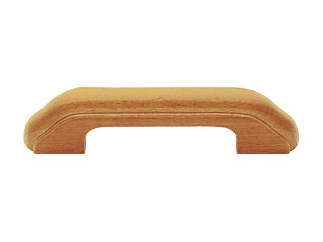 Uchwyt meblowy drewniany buk UD25-0096-D10-SU Gamet