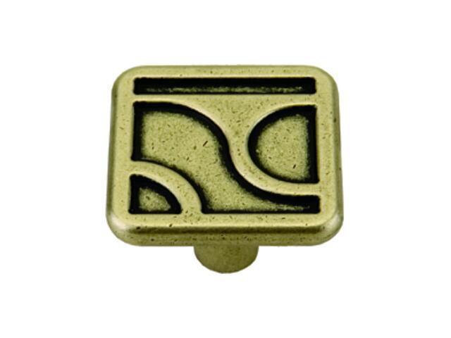 Gałka meblowa ARUM patyna na mosiądzu GR16-G0005-SU Gamet