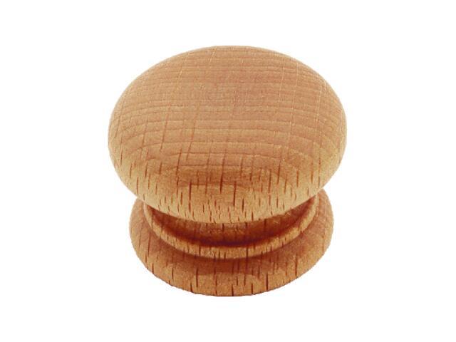 Gałka meblowa drewniana buk GD40-D10-F35-M-SU Gamet