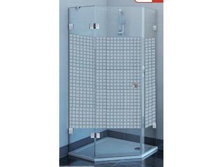 Kabina prysznicowa pięciokątna GLASSLINE MATRIX GSH3-90 L, szkło wzór 3KL77A00ZM Ravak