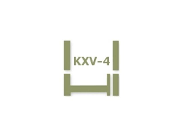 Kołnierz do zespoleń KXV-4 26 134x78 Fakro