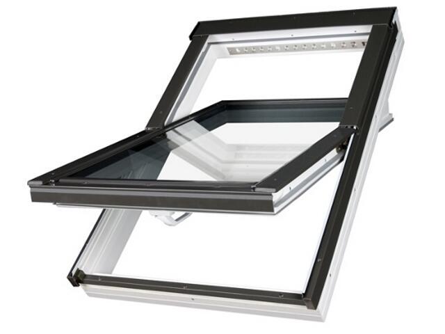Okno obrotowe PTP-V U3 10 114x118 Fakro