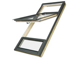 Okno obrotowe o podwyższonej osi obrotu FDY-V U3 78x206 (160/50) Fakro