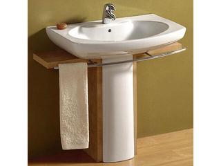 Reling boczny dwustronny do umywalki DAMA SENSO 80cm A840538000 Roca
