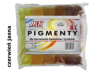Pigment BAYFERROX 130 czerwień jasna 1kg JKK