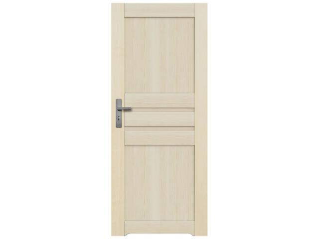 Drzwi sosnowe Madryt pełne 80 prawe z podcięciem wentylacyjnym Radex