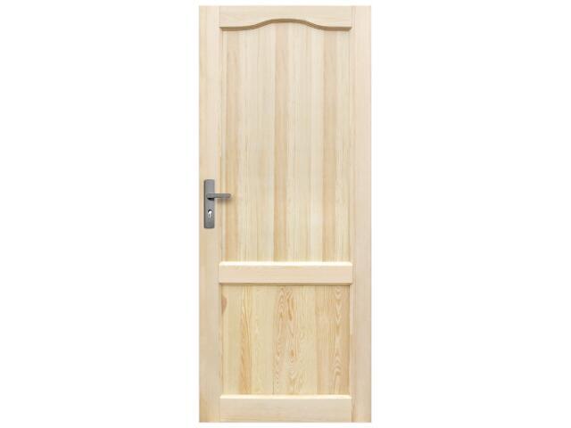 Drzwi sosnowe Perkoz Plus pełne 60 prawe Radex