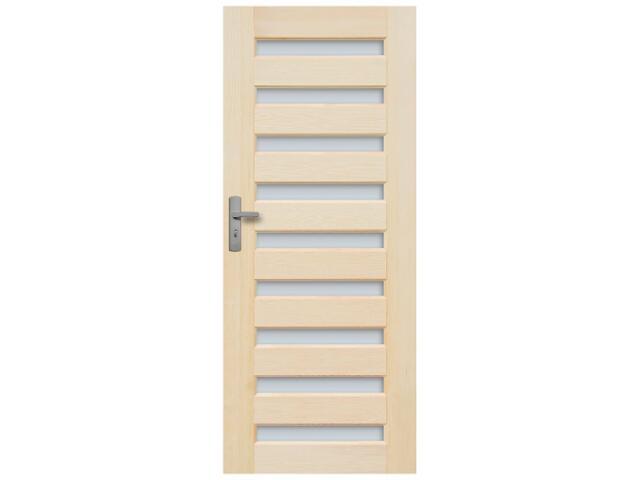 Drzwi sosnowe Regent przeszklone (9 szyb) 90 lewe Radex