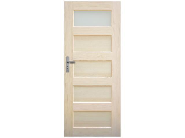 Drzwi sosnowe Istria przeszklone (1 szyba) 70 prawe Radex