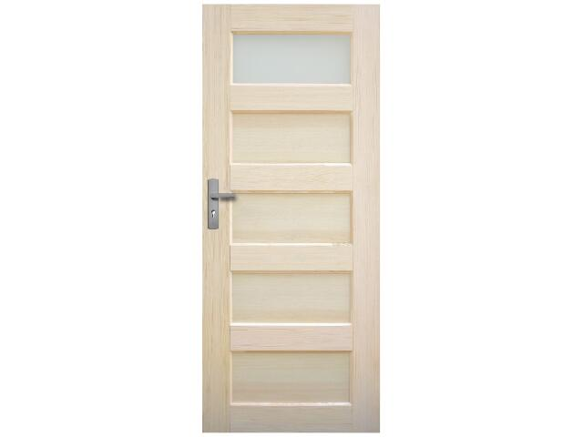 Drzwi sosnowe Istria przeszklone (1 szyba) 90 lewe Radex