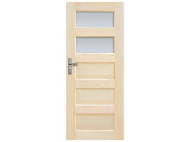 Drzwi sosnowe Istria przeszklone (2 szyby) 80 prawe Radex