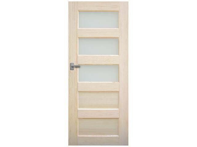 Drzwi sosnowe Istria przeszklone (3 szyby) 60 prawe Radex