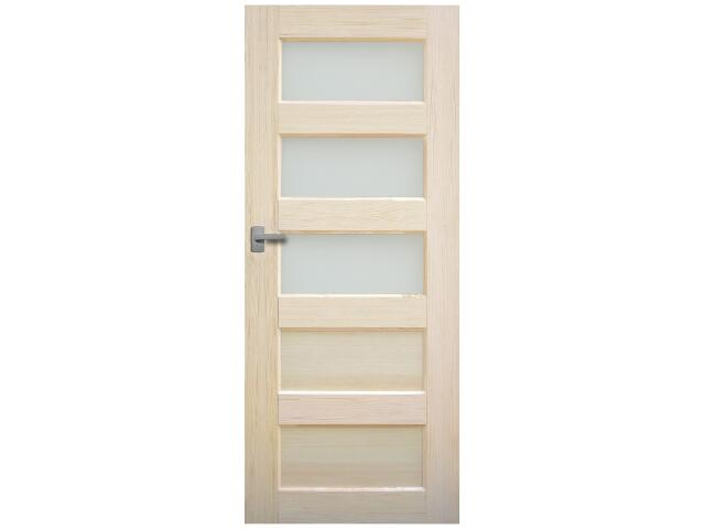 Drzwi sosnowe Istria przeszklone (3 szyby) 100 lewe Radex