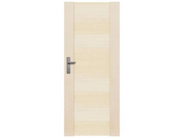 Drzwi sosnowe Modena pełne 80 prawe Radex
