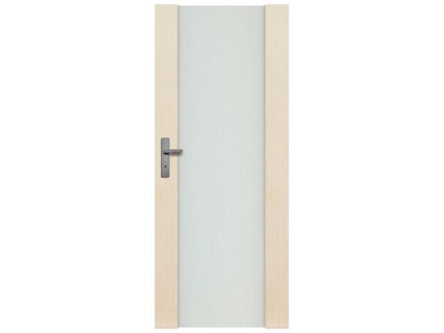 Drzwi sosnowe Modena przeszklone (1 szyba) 60 lewe Radex
