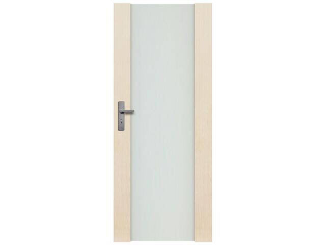 Drzwi sosnowe Modena przeszklone (1 szyba) 90 prawe Radex