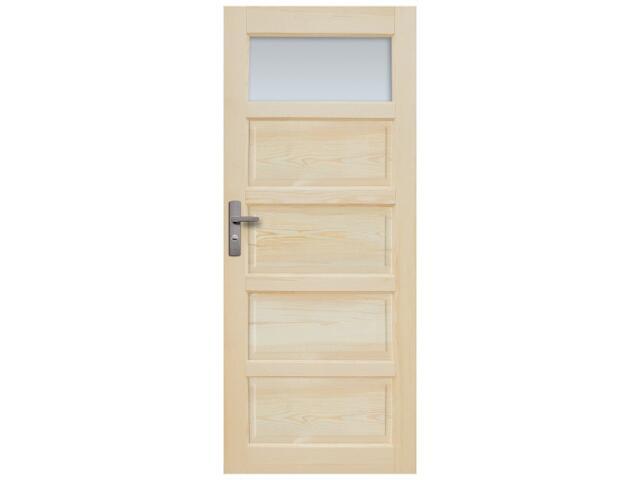 Drzwi sosnowe Sevilla przeszklone (1 szyba) 60 prawe Radex