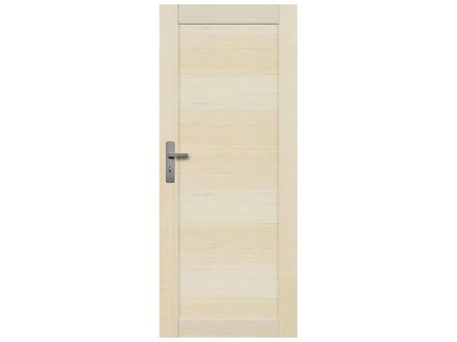 Drzwi sosnowe Lazio pełne 80 prawe Radex