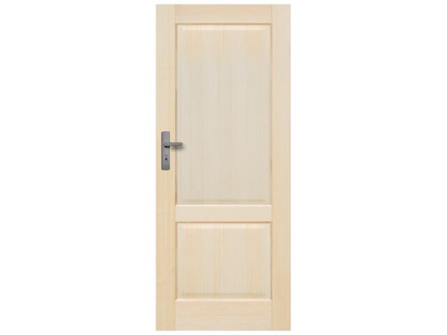 Drzwi sosnowe Turyn pełne 70 prawe Radex