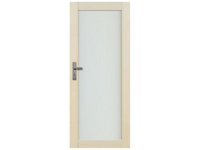 Drzwi sosnowe Lazio przeszklone (1 szyba) 100 prawe Radex