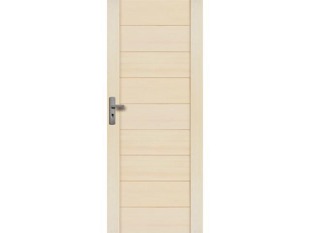 Drzwi sosnowe Asturia pełne 90 prawe Radex