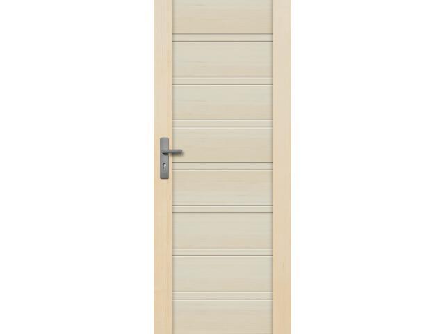 Drzwi sosnowe Malaga pełne 100 lewe Radex