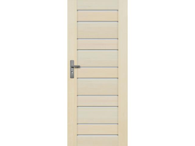 Drzwi sosnowe Marbella przeszklone (10 szyb) 90 prawe Radex