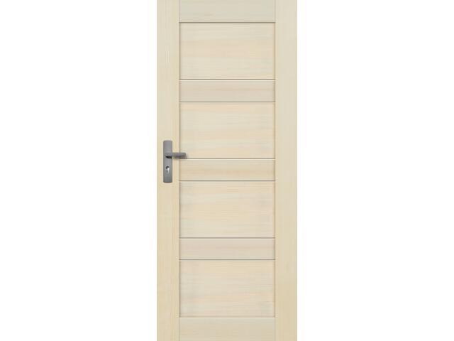 Drzwi sosnowe Nefryt pełne 60 prawe Radex