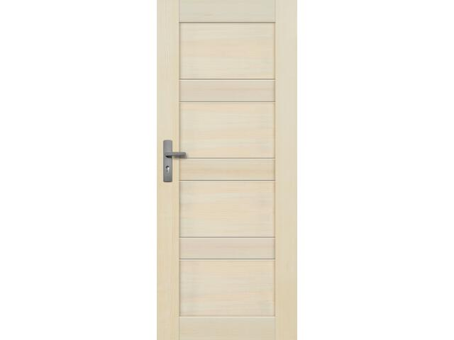 Drzwi sosnowe Nefryt pełne 70 prawe Radex