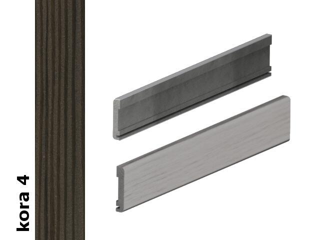 Listwa maskująca płaska komplet do drzwi 100 okleina Cortex kora 4 Verte
