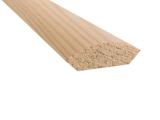 Ćwierćwałek drewniany bezsęczny komplet Radex
