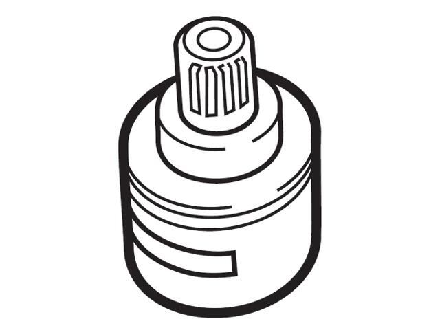 Przełącznik wanna-prysznic do baterii Moai-T A505121307 Roca