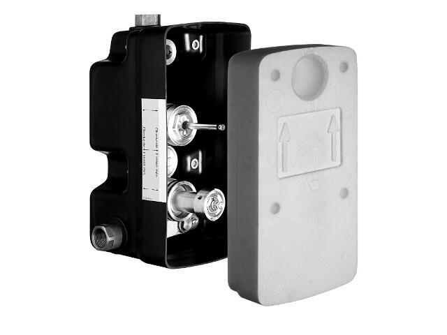 Skrzynka podtynkowa Masterbox WBW-SC-T z termostatem Schell