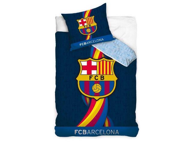 """Pościel kibica FC Barcelona """"Świecący w ciemności"""" 160x200+70x80 Carbotex"""