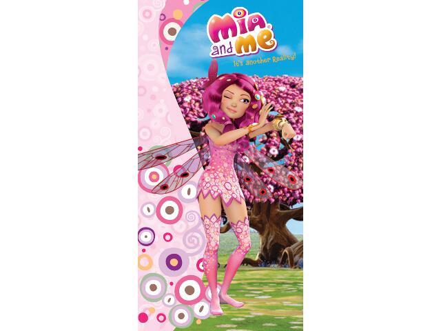 Ręcznik drukowany Mia i Ja 75x150 Carbotex