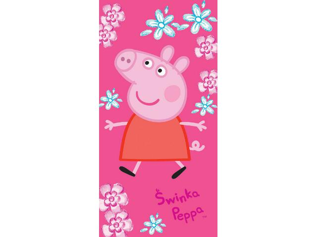 Ręcznik drukowany Świnka Peppa 70x140 Carbotex