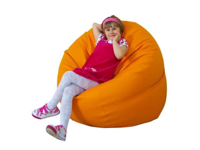 Pufa Idylla 115x30cm pomarańcz BabyMatex