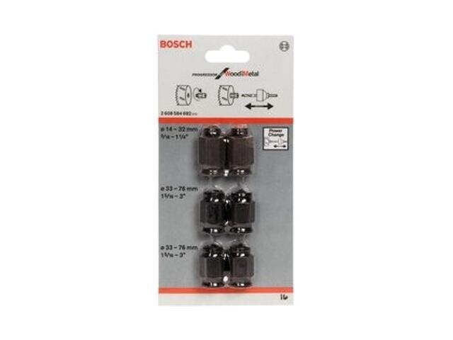 Adapter redukcyjny 6szt. Bosch