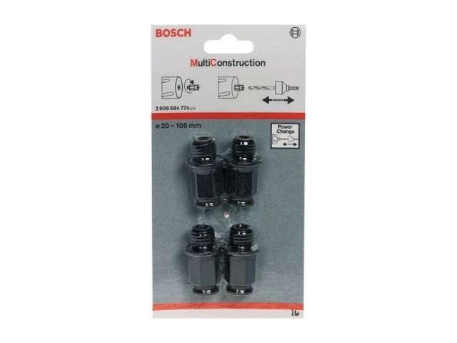 Zestaw adapterów Multi Construction 4cz. Bosch
