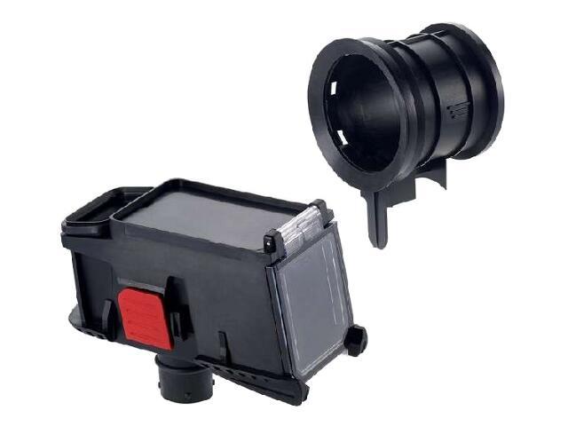 Zestaw z adapterem wiertniczym do koronek i pojemnikiem na pył Bosch