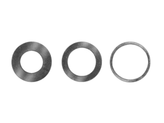 Pierścień redukcyjny do mocowania pił tarczowych na wrzecionach 30x16mm gr. 1,8mm DeWALT