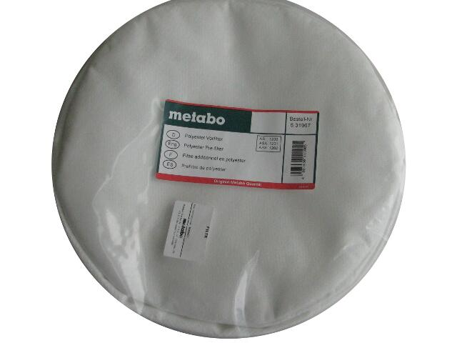 Filtr wstępny z poliestru Metabo